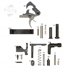 Complete AR15/M4 Mil-Spec Lower Parts Kit with ACT Trigger