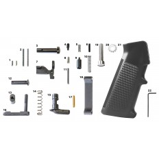 AR15/M4 Mil-Spec Lower Parts Kit (Less Trigger)